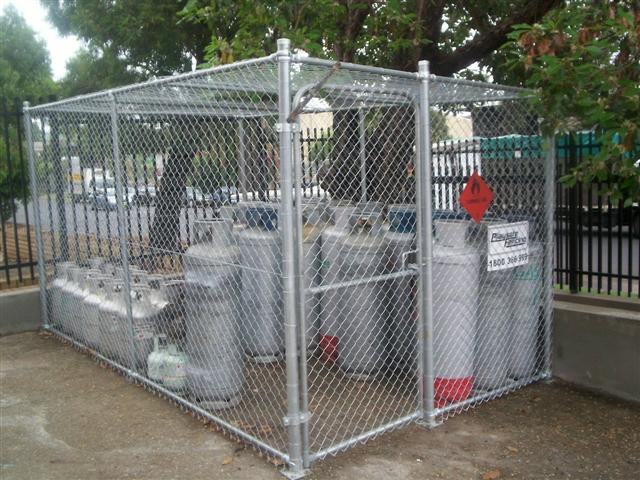 Chainwire Amenities Security Enclosure